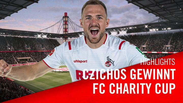 Rafael Czichos gewinnt FC Charity Cup