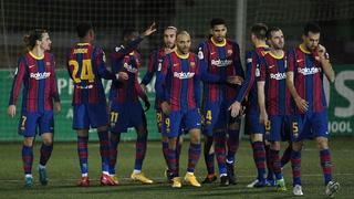 Barcelona sufre para eliminar al Cornella de la Copa del Rey tras fallar dos penales