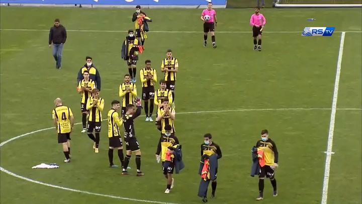Resumen del partido Sanse 2-0 Portugalete Zubieta -Real Sociedad  2ªb