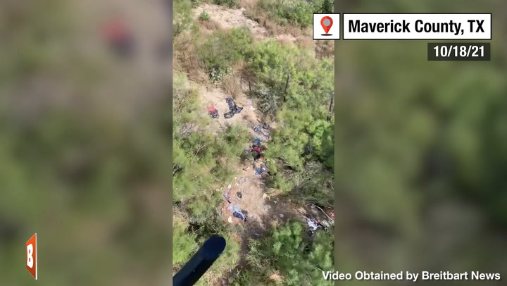 Garbage from Migrants Fill Texas Ranchlands near Border