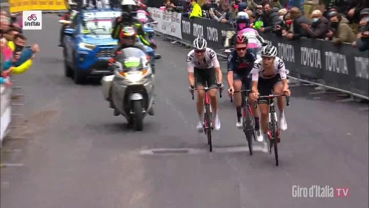 Victoria de  Tao Geoghegan en la 15ª etapa del Giro d'Italia 2020