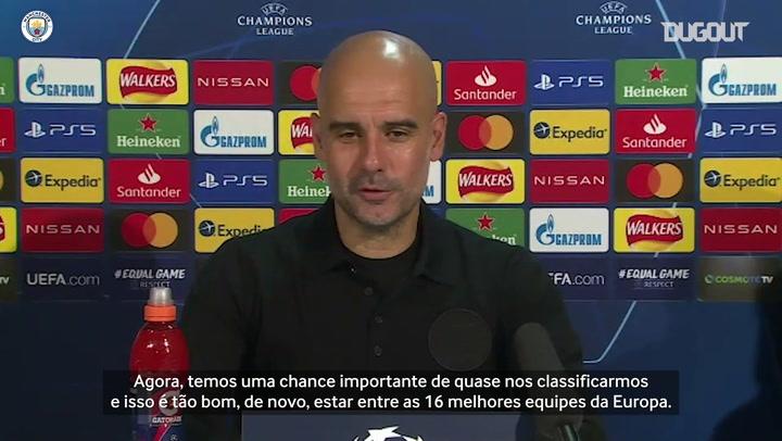 "Guardiola nega que título da Champions seja ""obsessão"" no Manchester City"