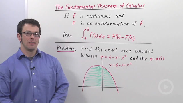 The Fundamental Theorem of Calculus - Problem 1