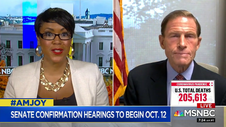 Sen Blumenthal on Packing SCOTUS: 'Nothing Is Off the Table'