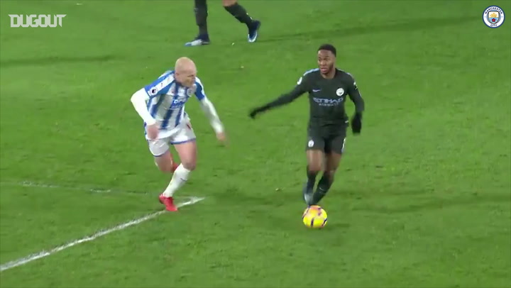 All Angles: Sterling's clincher vs HTFC! ⚽