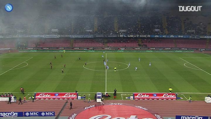 Napoli thrash Genoa 6-1