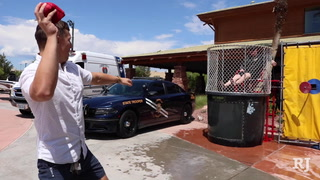 NHP dunks troopers for good cause