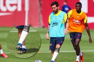 Barcelona - Bayern: Messi entrena con normalidad mirando de reojo al Múnich
