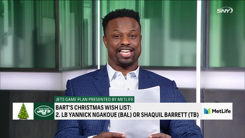 Bart Scott and Chad Cascadden give their top 5 Christmas Jets wish list | Jets Game Plan