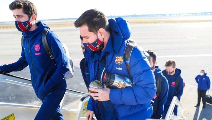 El viaje del Barça a Madrid