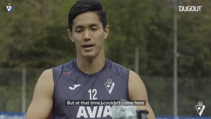 Yoshinori Muto on joining Eibar