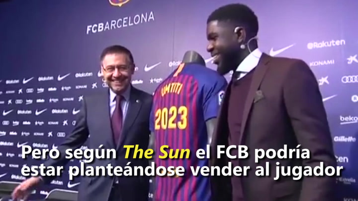 Manchester City y Manchester United, atentos a Umtiti