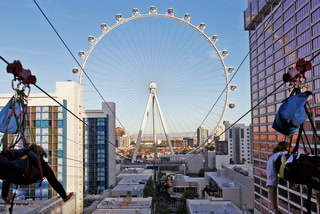 A New Zip Line Is Opening On The Las Vegas Strip