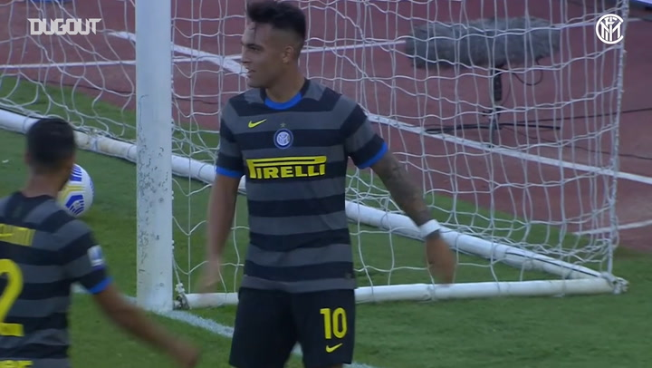 Lautaro Martinez scores in three successive games at start of 2020-21