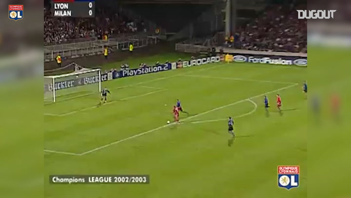 Olympique Lyonnais' brillant team goal vs Inter Milan