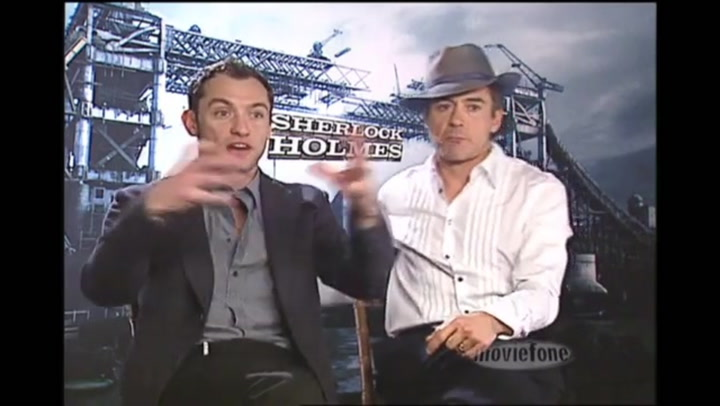 Sherlock Holmes - Interview - Robert Downey Jr. and Jude Law