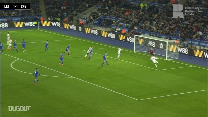 Wilfried Zaha's double over Leicester City at the King Power Stadium