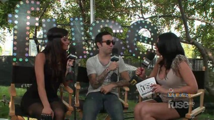 Festivals: Lollapalooza:Pete Wentz Is Rooting For His Fall Out Boy Bandmates - Lollapalooza 2011