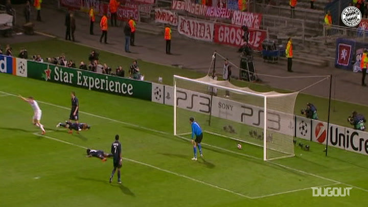 FC Bayern down Lyon in Champions League semi-final 2010