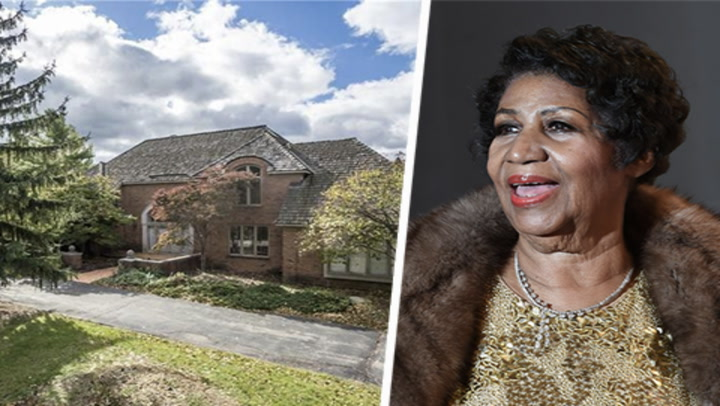 Aretha Franklin's Suburban Detroit Home Demands Respect, and $800K