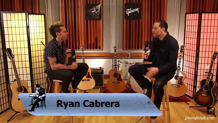 Ryan Cabrera is interviewed on The Jimmy Lloyd Songwriter Showcase