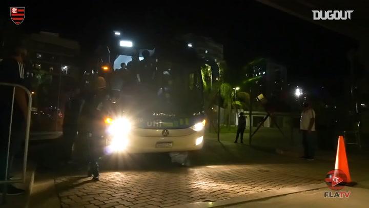 Behind the scenes of Flamengo's state championship return vs Bangu