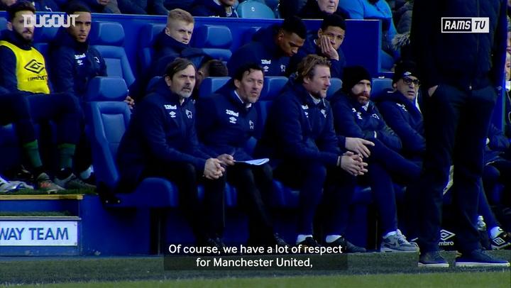 Phillip Cocu and Max Bird preview 'dream' Manchester United clash