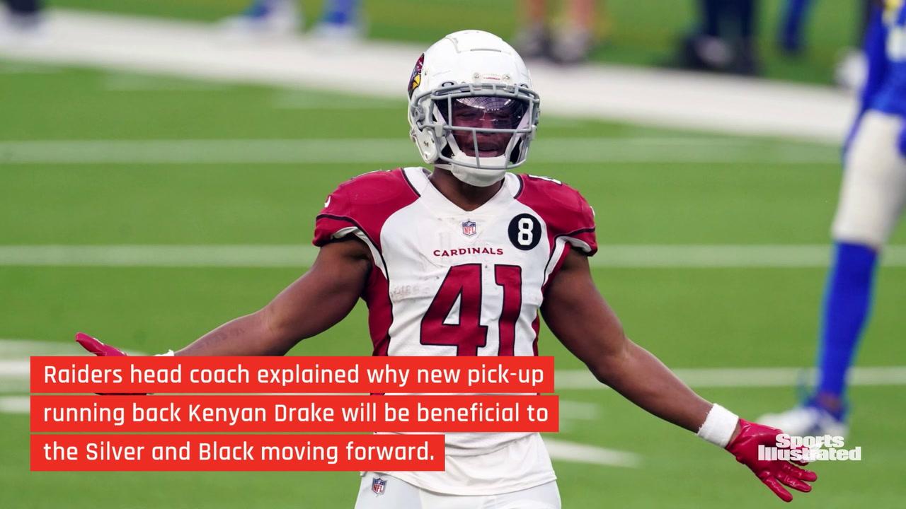 Raiders' Jon Gruden: New Game Plan for Running Back Position