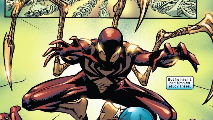「IRON spider-man suit comics」的圖片搜尋結果