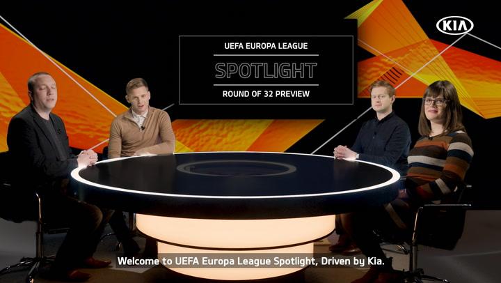 Spotlight Round of 32 Preview | UEFA Europa League 2019-20 | Kia