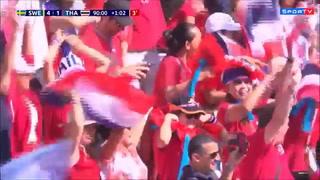Mundial Femenino de Francia: Un gol de honor, directora de Tailandia se emociona y llora