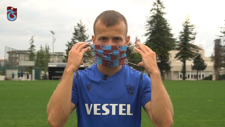 Trabzonspor Oyuncularının Maske Uyarısı!