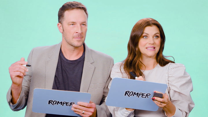"Tiffani Thiessen & Brady Smith Play ""How Well Do You Know Each Other?"""