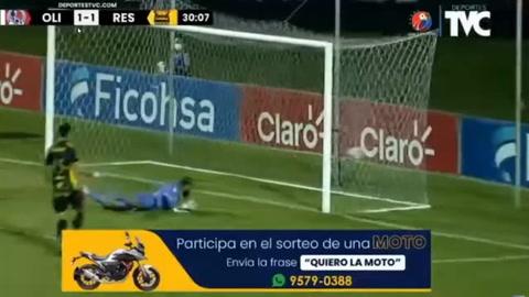 El golazo de Yeison Mejía en el clásico contra Olimpia