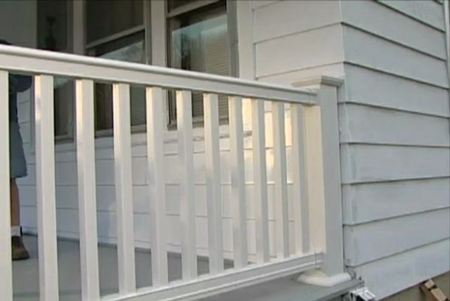 How To Install A Composite Railing On Porch Or Deck Ron Hazelton