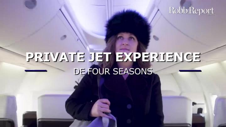 Private Jet Experience de Four Seasons