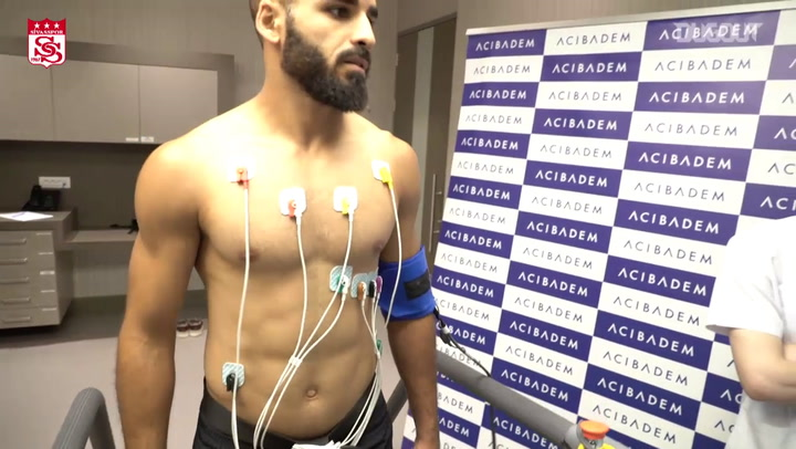 First Day Of Douglas With Sivasspor