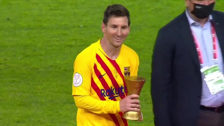 Messi, MVP de la Copa