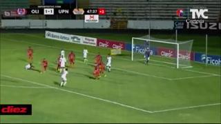 ¡Johnny Leverón anota golazo de volea y Olimpia le remonta el marcador a UPNFM!