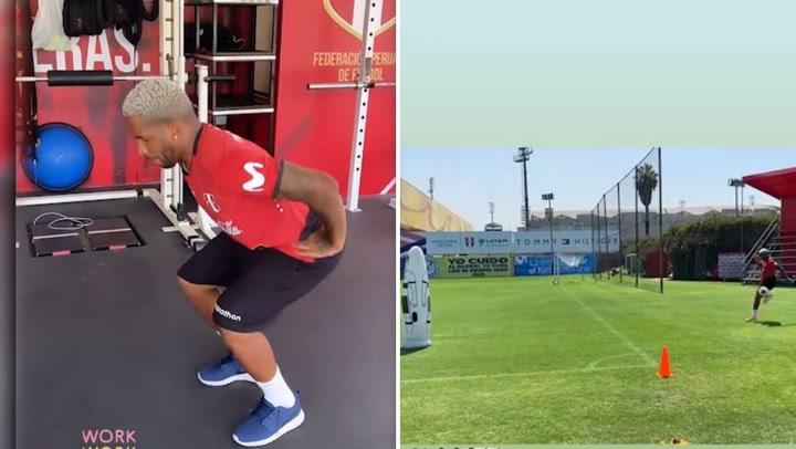 Jefferson Farfán controla el balón al fiel estilo de Neymar