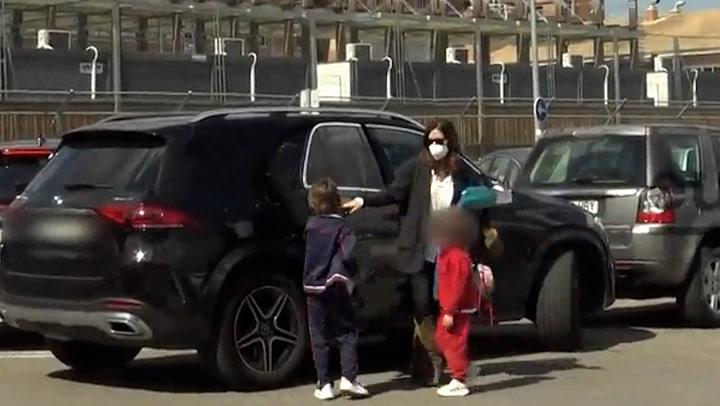 Sara Carbonero, volcada en sus hijos tras su divorcio de Iker Casillas