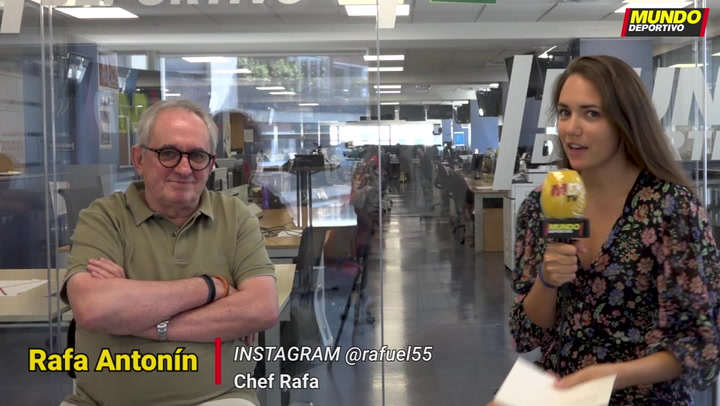 Presentación del Chef Rafa como colaborador de Mundo Deportivo