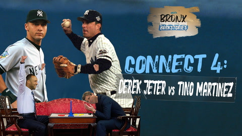 What happened when Derek Jeter and Tino Martinez faced off in Connect 4? | Bronx Backstories