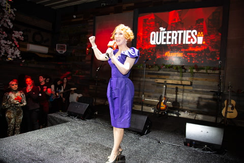 Kathy Griffin at the #Queerties!