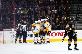 Golden Knights recap their loss to the Predators