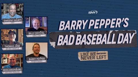 Like We Never Left: Barry Pepper's bad baseball day on the set of 61*