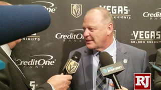 Gerard Gallant on Knights' comeback against the Wild