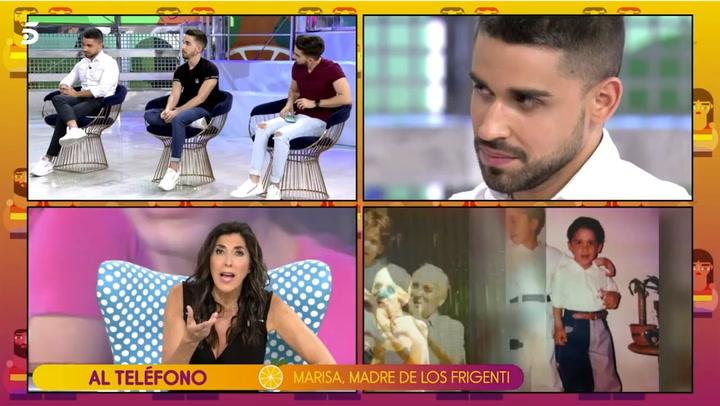 Duras críticas a Paz Padilla por su comentario homófobo a la madre de Miguel Frigenti