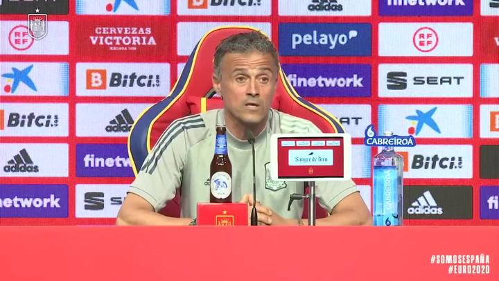 El análisis de Luis Enrique tras el positivo por Covid en la selección española