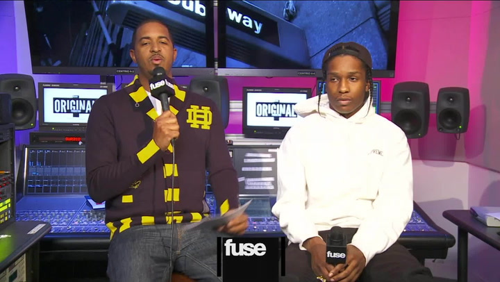 "Interviews: A$AP Rocky Reveals Backstory to Epic ""1 Train"" Posse Cut"